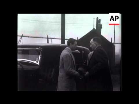Prince George Visits Pit Disaster Scene