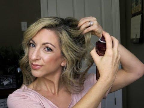 Second Day Hair Routine & A Little Movie Talk
