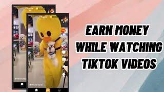 earn money while watching tiktok videos