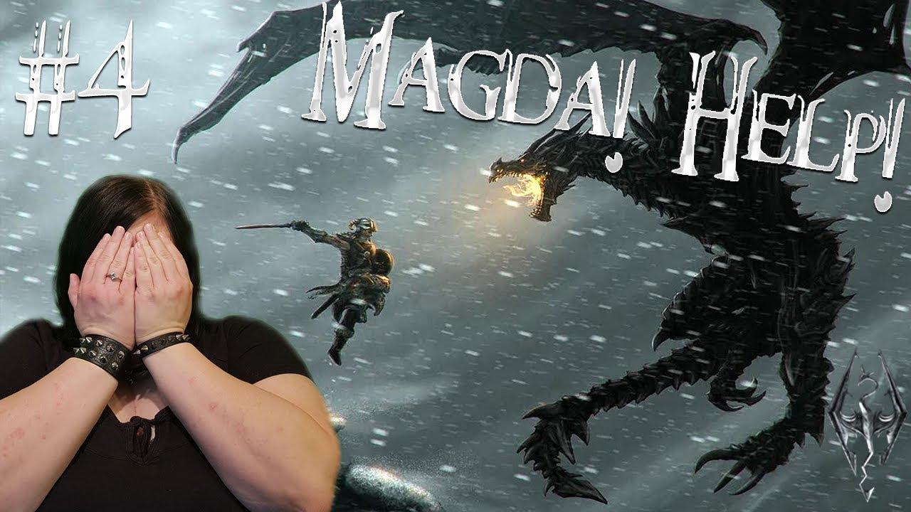 Kebab ze smok The Elder Scrolls V: Skyrim #4 | w Madzia