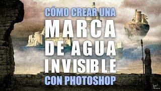 Cómo crear una marca de agua invisible con Photoshop