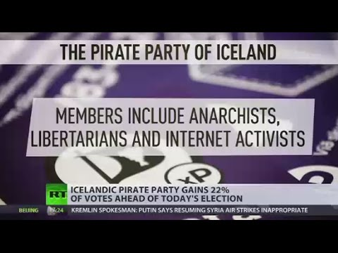 Iceland Election: Pirate Party prepares for major win