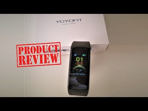 💜 YoYoFit Slim Fitness Tracker Heart Rate Monitor Watch 💜