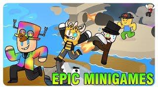 """Seruseruan main Minigames 😂"" | Roblox Epic Minigames Indonesia"