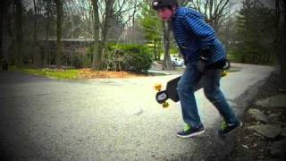 Michael's first year of Longboarding