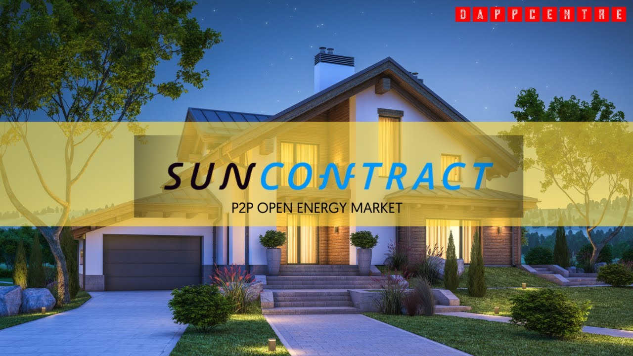 SUNCONTRACT.ORG! A BLOCKCHAIN-BASED ENERGY MARKETPLACE!