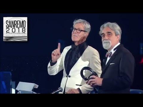 Sanremo 2018 - Claudio Baglioni critica il maestro Vessicchio