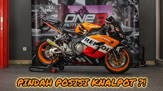 Segar Kembali!!!! CBR 1000RR Repsol 2005 + Arrow Exhaust Full Titanium = PERFECT!!