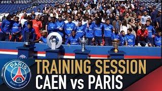 TRAINING SESSION - ENTRAINEMENTS - CAEN vs PARIS SAINT-GERMAIN