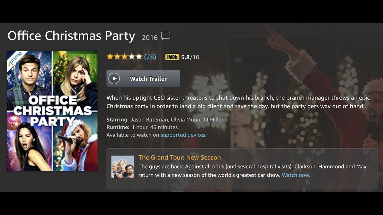 Office Christmas party - YouTube