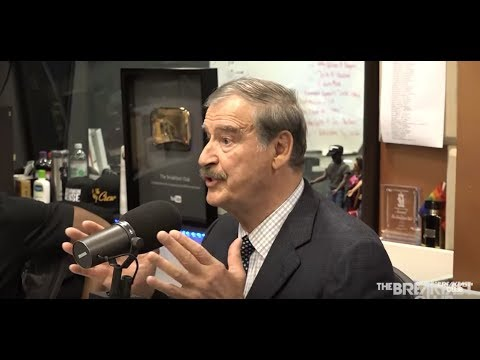 Mexico former President Vicente Fox, says El Chapo works for a cartel in the US & HQ of Crime is US