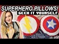 GEEK-IY: SUPERHERO PILLOWS (HOLIDAY GIFT IDEA!) ||🎄 Shut Up Kristen!