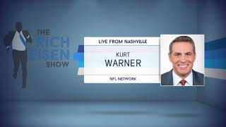 NFL Network's Kurt Warner on His Draft Day Experience | The Rich Eisen Show | 4/25/19