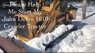 Fixing My Father's John Deere 1010 Crawler Tractor