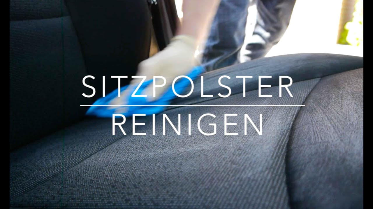 auto sitzpolster reinigen anleitung youtube. Black Bedroom Furniture Sets. Home Design Ideas