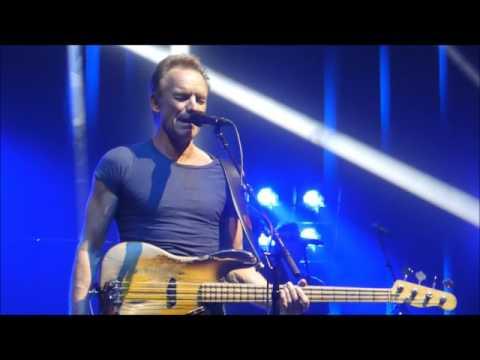 Sting Walking On The Moon Olympia Paris 12/04/2017