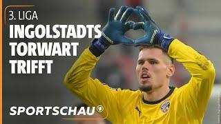 3. Liga: Kurioses Finale - Ingolstadts Torwart Buntic wird zum Last-Minute-Helden