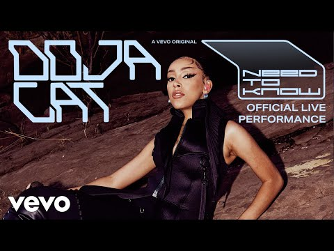 Doja Cat - Need To Know (Official Live Performance) | Vevo