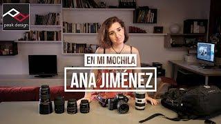 En mi mochila: Ana Jiménez