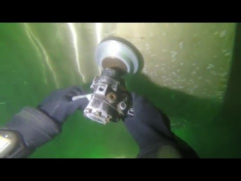 Propeller Polishing on Oil Products Tanker