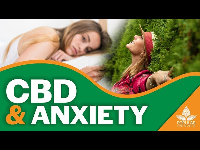 CBD and Anxiety | Can CBD Help My Anxiety? [2019]