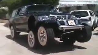Nissan Patrol 'Черный Паук' шейха Хамада
