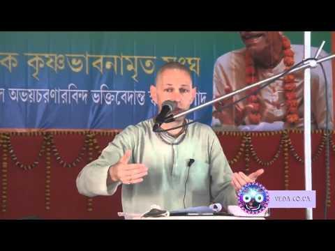 Бхагавад Гита 6.36 - Враджендра Кумар прабху