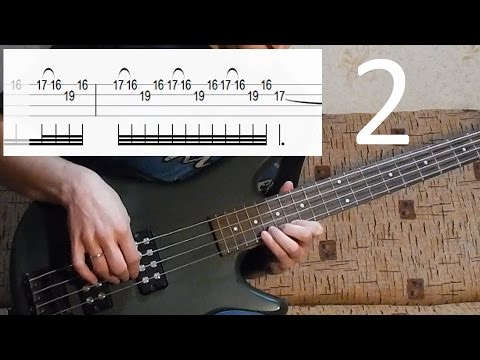 Metallica Orion bass lesson (2 of 4 - how to play SOLO) + bass tab