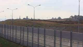 Керчь.Ж-Д подходы к керченскому мосту.Нижний Солнечный тишина.