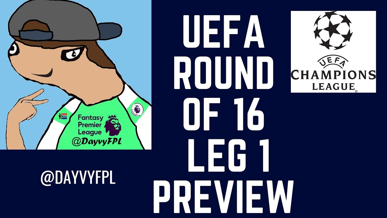 Champions League last-16 first leg preview: Viewing guide ...