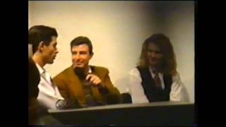 RTVE Extremadura entrevista backstage a Parchís (Feria Badajoz IFEBA 06/01/1992)
