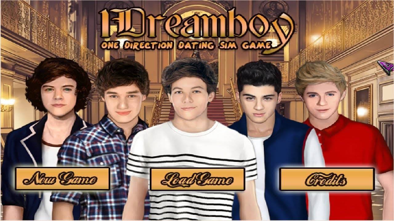 1Dreamboy One Direction Dating Sim Game 2
