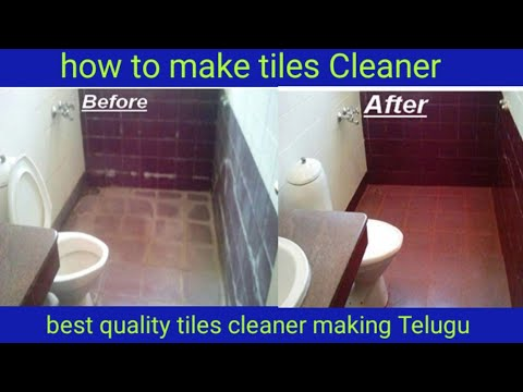 Tiles And Marbles How To Make Tiles And Marbles Telugu Clean House Telugu Youtube