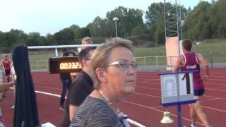 DM10000m 2016-09-14  Målgång 2:an Herr
