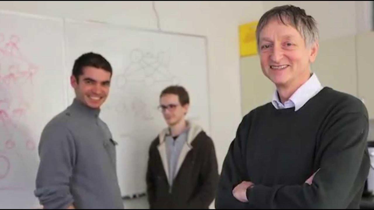 Can sensory cortex do backpropagation?  - Geoffery Hinton