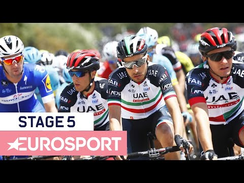 Giro d'Italia 2018 | Stage 5 Highlights | Cycling | Eurosport