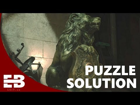 Lion statue puzzle solution | RESIDENT EVIL 2 REMAKE