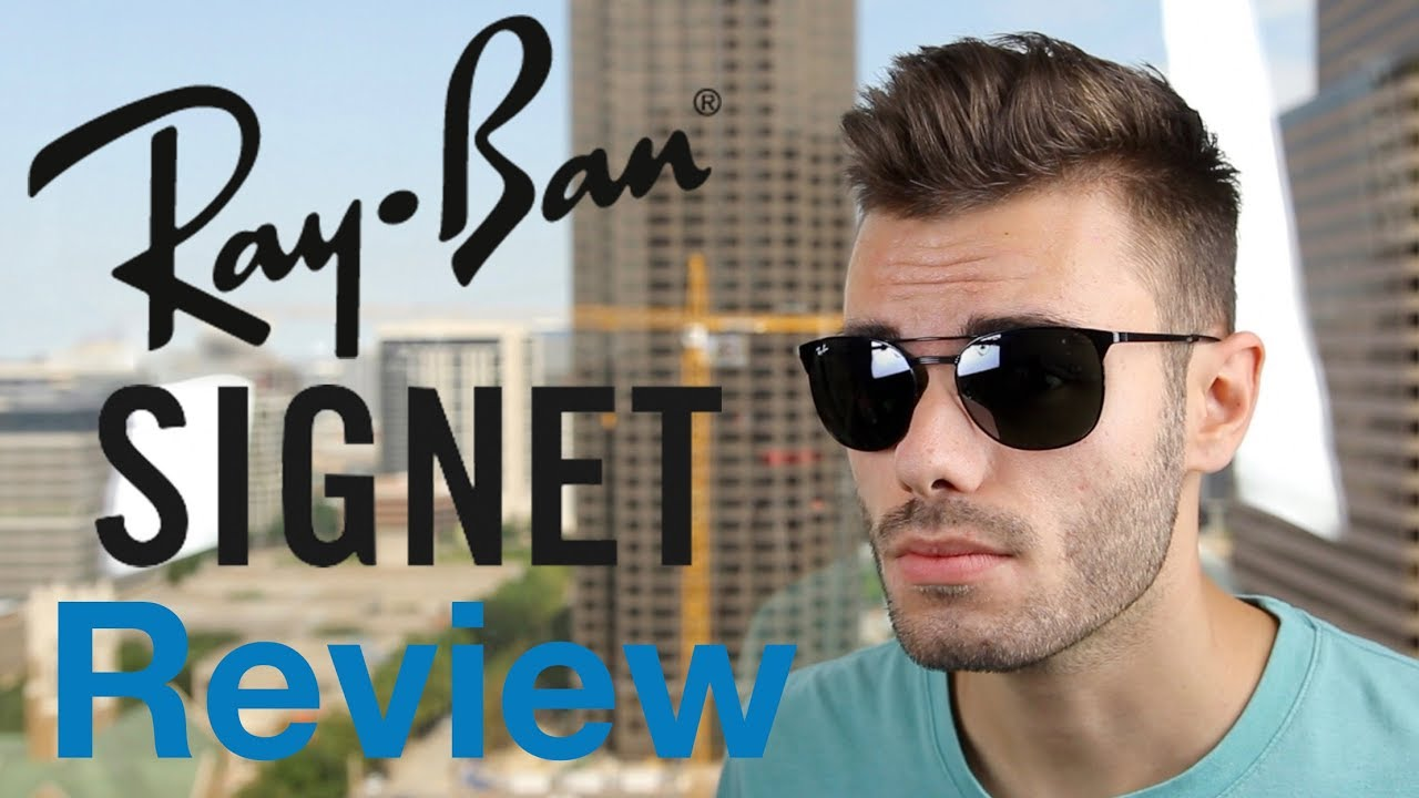 7bb330377ad Ray-Ban Signet Review - YouTube