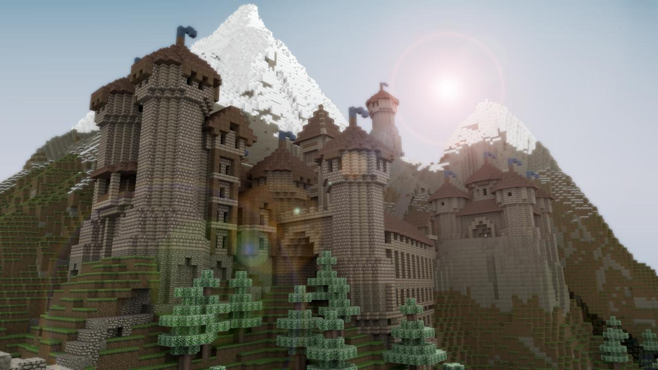 How To Make A Epic Castle In Minecraft Pocket Edition In 20 Minutes