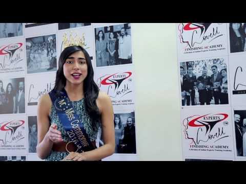Student Testimonial- Shweta Raj Miss Commonwealth Asia pacific 2016