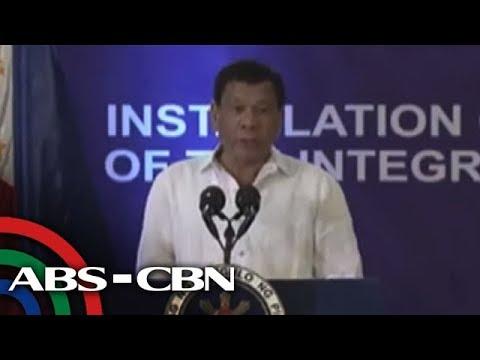 TV Patrol: Duterte, hinamon ang Ombudsman at Chief Justice na sabay-sabay silang mag-resign