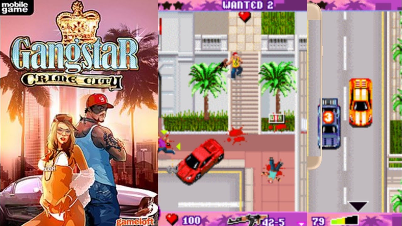 PHONEKY - Gangstar Crime City Java Games