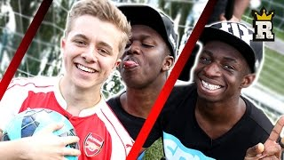KSI TBJZL & ChrisMD - WOODWORK CHALLENGE | Rule'm Sports