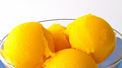 Mango Sorbet Recipe - by Laura Vitale - Laura in the Kitchen Episode 161