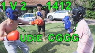 UDiE VS CGGG-1412 พี่ให้2คนเลยครับน้องๆเกือบน็อค!!
