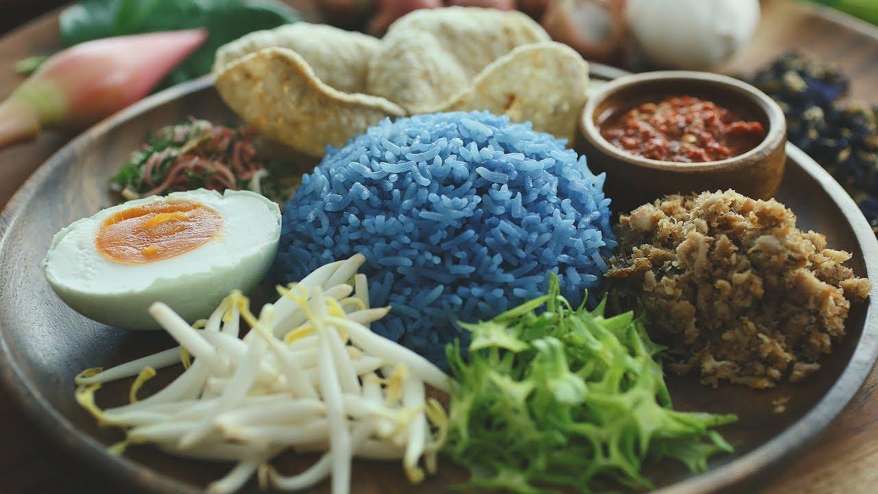 Hasil gambar untuk Nasi Kerabu