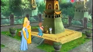 佛教動畫系列 佛教因果故事 金色比丘尼