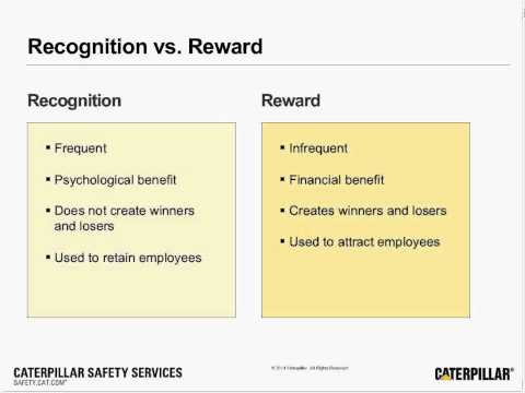 Safety Webinar   Recognition and Workplace Safety
