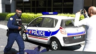 GTA 5 - POLICE NATIONALE - JOUR 15