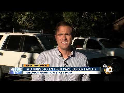 MORNING NEWS - Guns Stolen From Palomar Mountain State Park